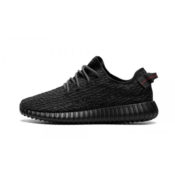 Adidas Yeezy Boost 350 Shoes Pirate Black 2016 Release on Sale