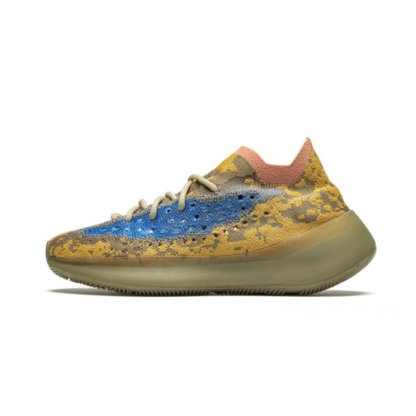 Adidas Yeezy Boost 380 Shoes Blue Oat on Sale